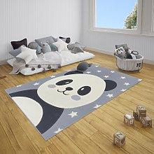 Adventures Hanse Home 104528 Pebbles Panda Grey