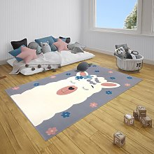Adventures Hanse Home 104548 Charly Alpaca Grey