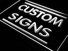 ADVPRO Custom Signs/LED Signs/Edge Lit Signs/Your