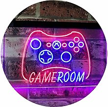 ADVPRO Game Room Console TV Man Cave Kid Room Dual