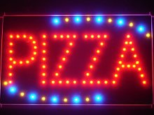 ADVPRO led008-r Pizza Shop OPEN LED Neon Business