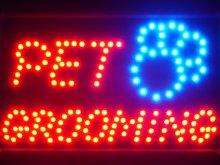 ADVPRO led011-r Pet Grooming Dog Shop LED Neon
