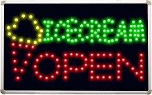 ADVPRO led123 Icecream OPEN Cafe Led Neon Sign