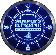 ADVPRO ncqh-tm Name Personalized Custom DJ Zone