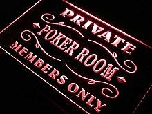 ADVPRO Private Poker Room Member Room LED Sign