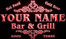 ADVPRO u-tm-r Name Personalized Custom Family Bar