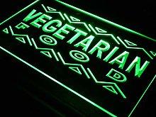 ADVPRO Vegetarian Food Enseigne Lumineuse LED Sign