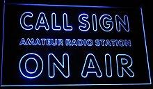 ADVPRO wa-tm Custom Call Sign On Air Amateur Radio