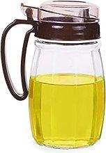 aedouqhr Spice jar Oil dispenser glass oil bottle