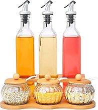 aedouqhr Spice jar Spice jar oil dispenser