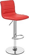 AEF Furniture Modern Swivel Bar Stools with Back,