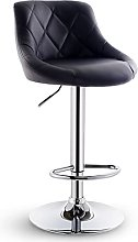 AEF Modern PU Bar Stools with Back, Height