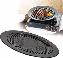 Aeloa Korean BBQ Grill Pan, Stainless Steel