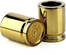 AEROBATICS 2PCS Bullet Shaped Glasses, 50 Ml Shot
