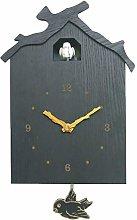 AERVEAL Antique Wooden Bird Cuckoo Clock Time