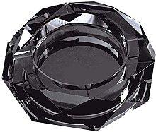 AERVEAL Ashtray Star Anise Glass Crystal Black