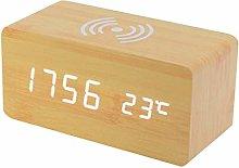 AERVEAL Digital Alarm Clock With Wireless Charging