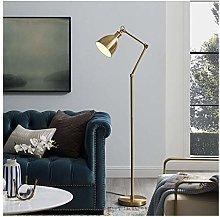 AERVEAL Floor Lamp Metal Vertical Table Lamp Brass