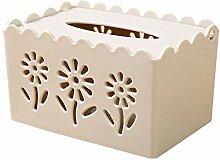 AERVEAL Paper Holder Tissue Box Desk Storage