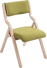 AERVEAL Wood Folding Chairs with Padded Seat,Wood