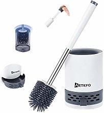 AETKFO Toilet Brush and Holder Bathroom Toilet