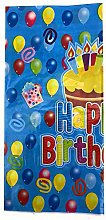 AEX Happy Birthday Style Table Cover Tablecloth
