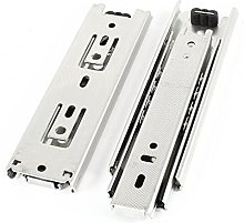 Aexit 2pcs Side Mounted Full Extension Drawer