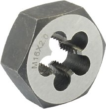 Aexit 47mm Outside Dia 18mm Thickness M16 x 2 Hex
