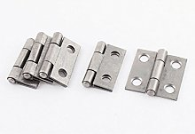 Aexit 5 Pcs Iron Cabinet Cupboard Door Gate pipe