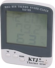 Aexit LCD Digital Time Thermometer Hygrometer