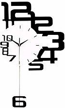 Afairy 3d Wall Clocks Pendulum Wall Clock With