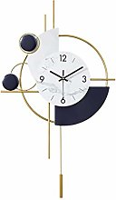 Afairy Modern Wall Clocks Pendulum Wall Clock With