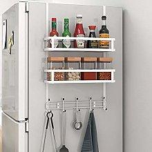 AFCITY Spice Fridge Organizer Refrigerator Rack