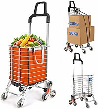 AFDK Folding Shopping Cart, Stair Climbing Grocery