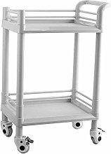 AFDK Medical Cart Tool 2 Tier Medical Utility Cart
