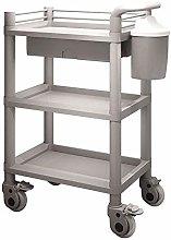 AFDK Medical Cart Tool 3 Tier Medical Utility Cart