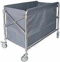 AFDK Medical Cart Tool Folding Linen Car with