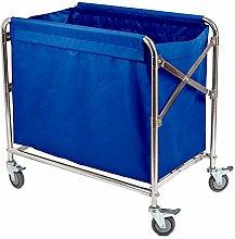 AFDK Medical Cart Tool Folding Linen Rolling Cart,