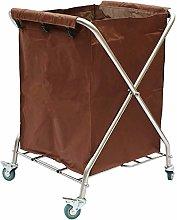 AFDK Medical Cart Tool Folding Linen Storage Car,