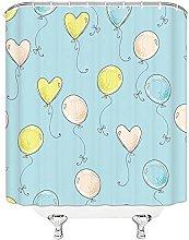 AFDSJJDK shower curtain liner fabric Waterproof