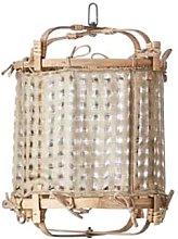 Affari - Pendant Lamp Shade Silk Beige - silk |