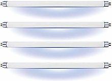AffyBulb 4 x 6W T5 UV BL368 Fly Killer Bulbs - 9in