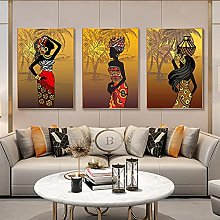 African Art Printed Canvas Painting print Wall Art