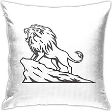 African Lion Designs Cushion Cover Car Cushion