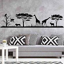 African Safari Wall Decal Jungle Vinyl Sticker
