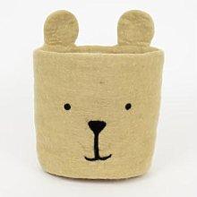 Afroart - Bear Felt Basket - wool   Fair Trade   H