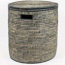 Afroart - Black Malawi Laundry Basket Small - Ø