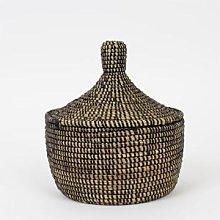 Afroart - Black Sene Jewellery Basket Large -
