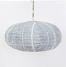 Afroart - Blue Oval Lemongrass Lampshade - Ø 65