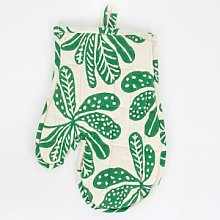 Afroart - Green Chestnut Oven Glove - 17x27 cm  